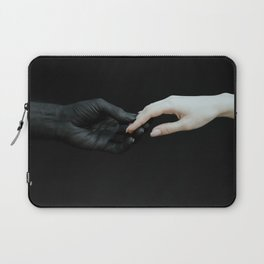 Holding hands Laptop Sleeve
