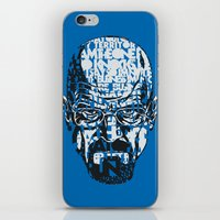 quotes iPhone & iPod Skins featuring Heisenberg Quotes by RicoMambo