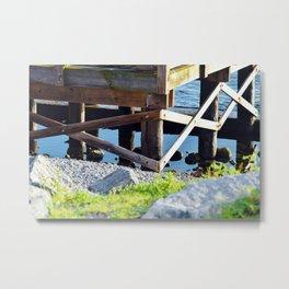 Port St. Joe Marina view 23 Metal Print