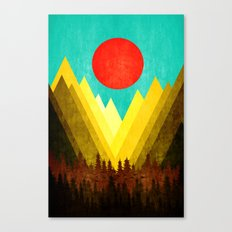 Landscape view XVI Canvas Print