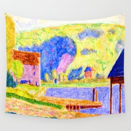 Oscar Bluemner Cold Spring Harbor Wall Tapestry