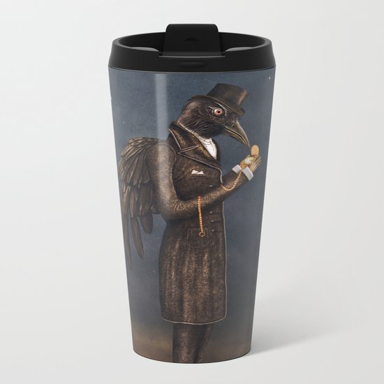 Even miracles take a little time. Metal Travel Mug
