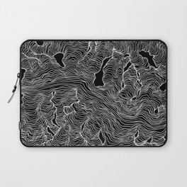 Inverted Enveloping Lines Laptop Sleeve
