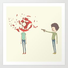 shoot Art Print