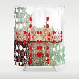 Fingerprint Shower Curtain