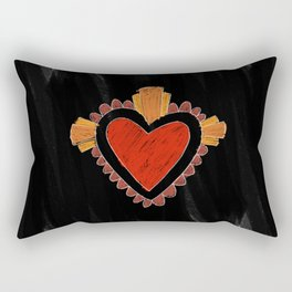 Black love Rectangular Pillow