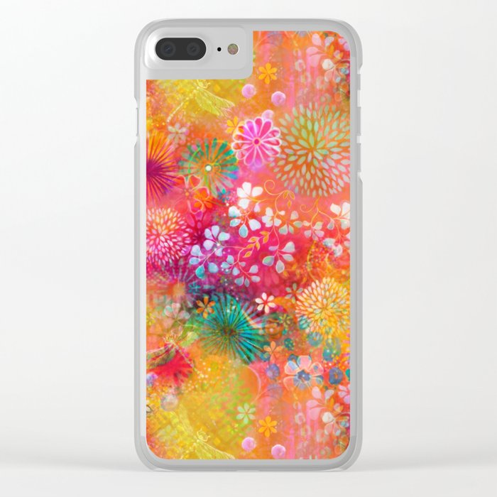 Here in Heaven Clear iPhone Case