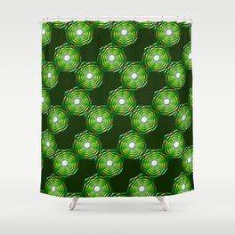 Geometrix LXXXVI Shower Curtain