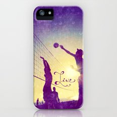 Live - for iphone iPhone (5, 5s) Slim Case