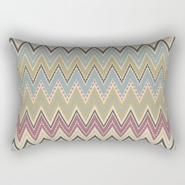 Ethnic patterns. Tribal pattern . Rectangular Pillow