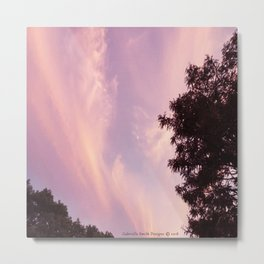Calming Skies Metal Print