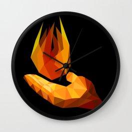Pyrokinesis Wall Clock