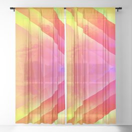 Taste Of Summer 1 Sheer Curtain