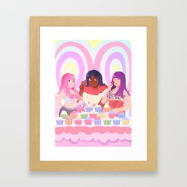 California Gurls Framed Art Print