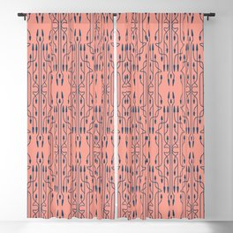 Arrows Vintage Pattern 2 Blackout Curtain