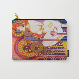 Red Head Klimt Carry-All Pouch