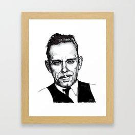 John Dillinger Mug Shot Framed Art Print