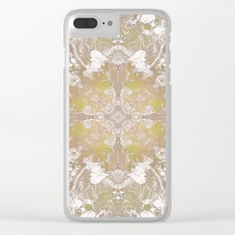Sunflower Clear iPhone Case