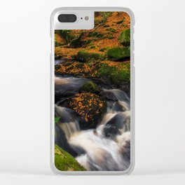 Cloghleagh River in Wicklow Mountains - Ireland (RR249) Clear iPhone Case