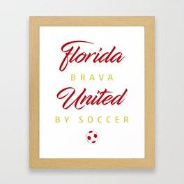 Florida Brava Framed Art Print