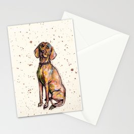Hungarian Vizsla Dog Stationery Cards