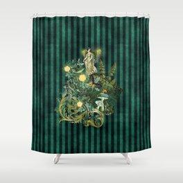 Vintage Fairy Dreams Shower Curtain