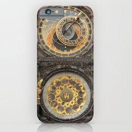 The Prague Astronomical Clock photo iPhone Case