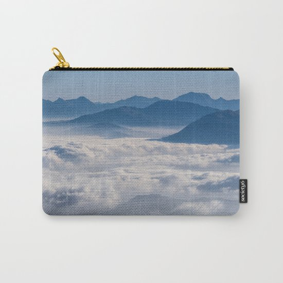 Follow me into the clouds #plane #air Carry-All Pouch