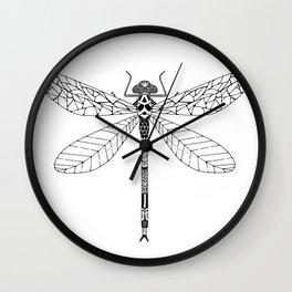 Bug - dragonfly Wall Clock
