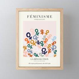L'ART DU FÉMINISME Framed Mini Art Print