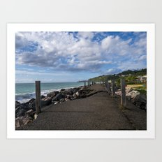Aguadilla coast 7 Art Print