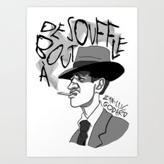 À bout de souffle (Breathless) Art Print