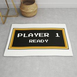 Player 1 ready Rug