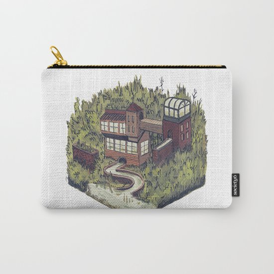 Squared Landscape II Carry-All Pouch