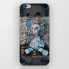 NO ONE ELSE CAN DO IT FOR YOU iPhone & iPod Skin