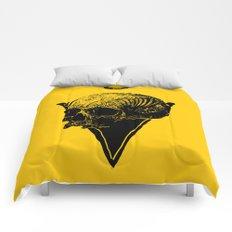 skull2 Comforters