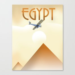 Egypt Travel poster Canvas Print