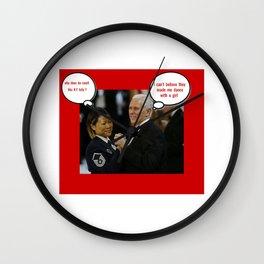 pence/ky Wall Clock
