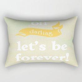 Oh Darling! Rectangular Pillow