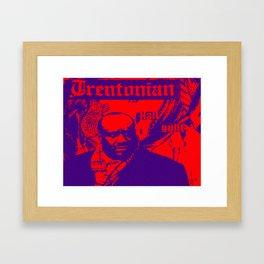 HAll Guilt Framed Art Print