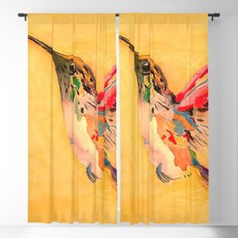 Hummingbird Blackout Curtain