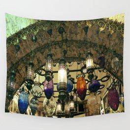 Turkish Lanterns! Wall Tapestry