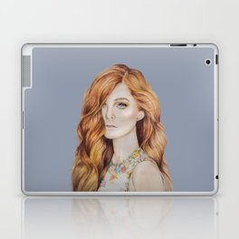 Copper Lady Laptop & iPad Skin