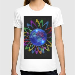 Abstract in Perfection - Rose 3 T-shirt