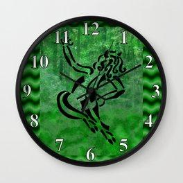 Joyful Puck Wall Clock