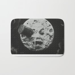 Georges Méliès A Trip To The Moon Bath Mat