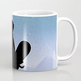 Snowboard Skyline Stand Coffee Mug