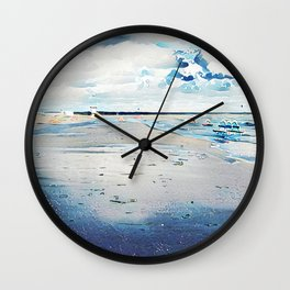 Fall, First Day Wall Clock