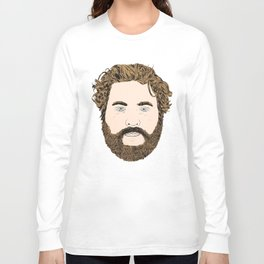 Zach Galifianakis Long Sleeve T-shirt