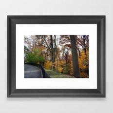 Fall adventure Framed Art Print
